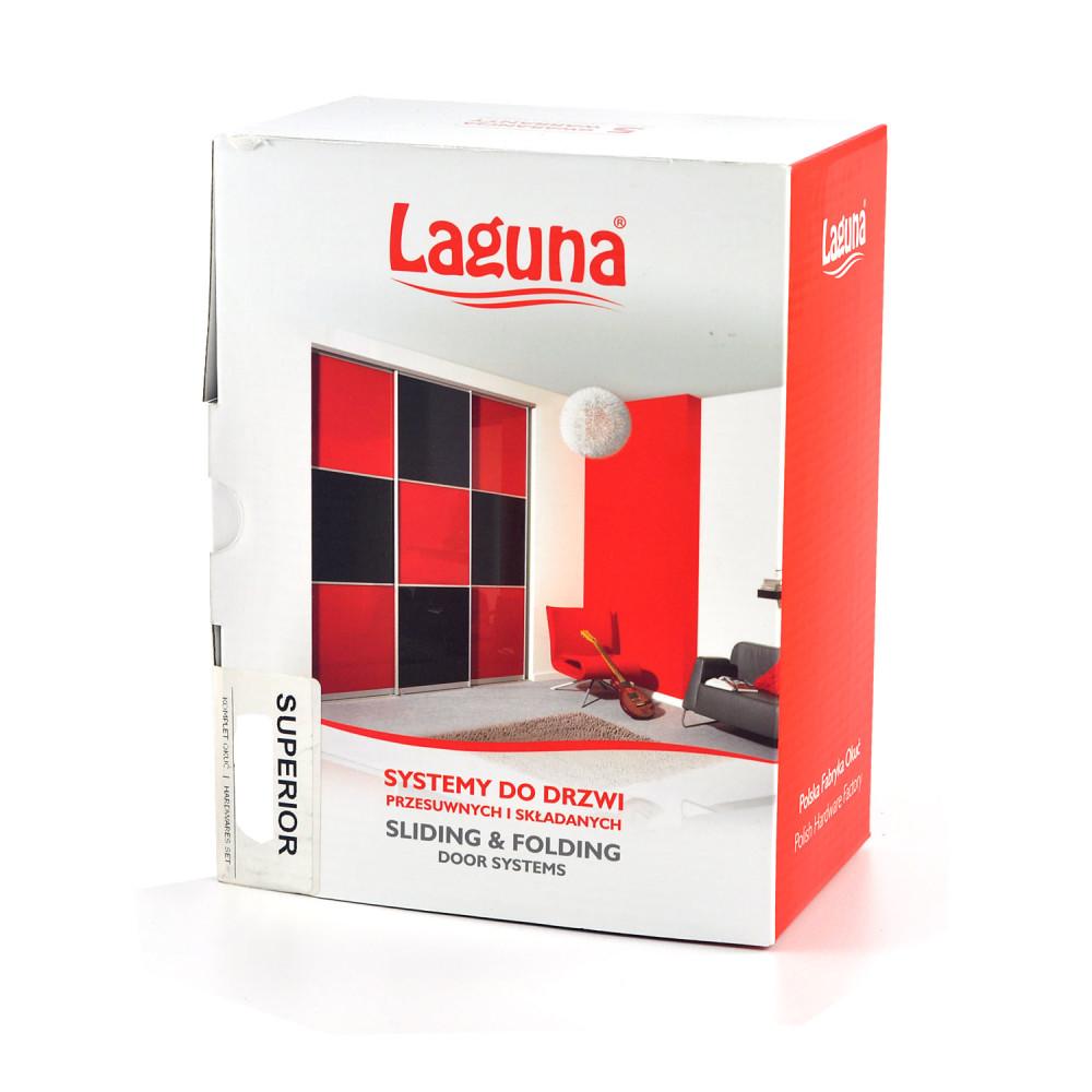 Laguna - komplet okuć do drzwi przesuwnych i składanych system